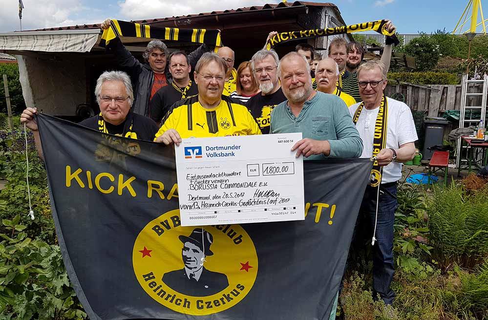 Heinrich-Czerkus-Lauf mit toller Spende