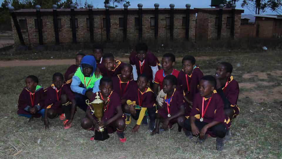 Borussia Commondale : Gewinner ist die Jugend in Commondale, Südafrika